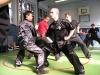 """velmistr Lam a sifu Macek učí sparringovou sestavu \""""krocení tygra\"""" (gung ji chaak)"""