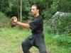 posilování prstů (lin ji lik) - chytání a házení pytlíku naplněného ocelovými kuličkami