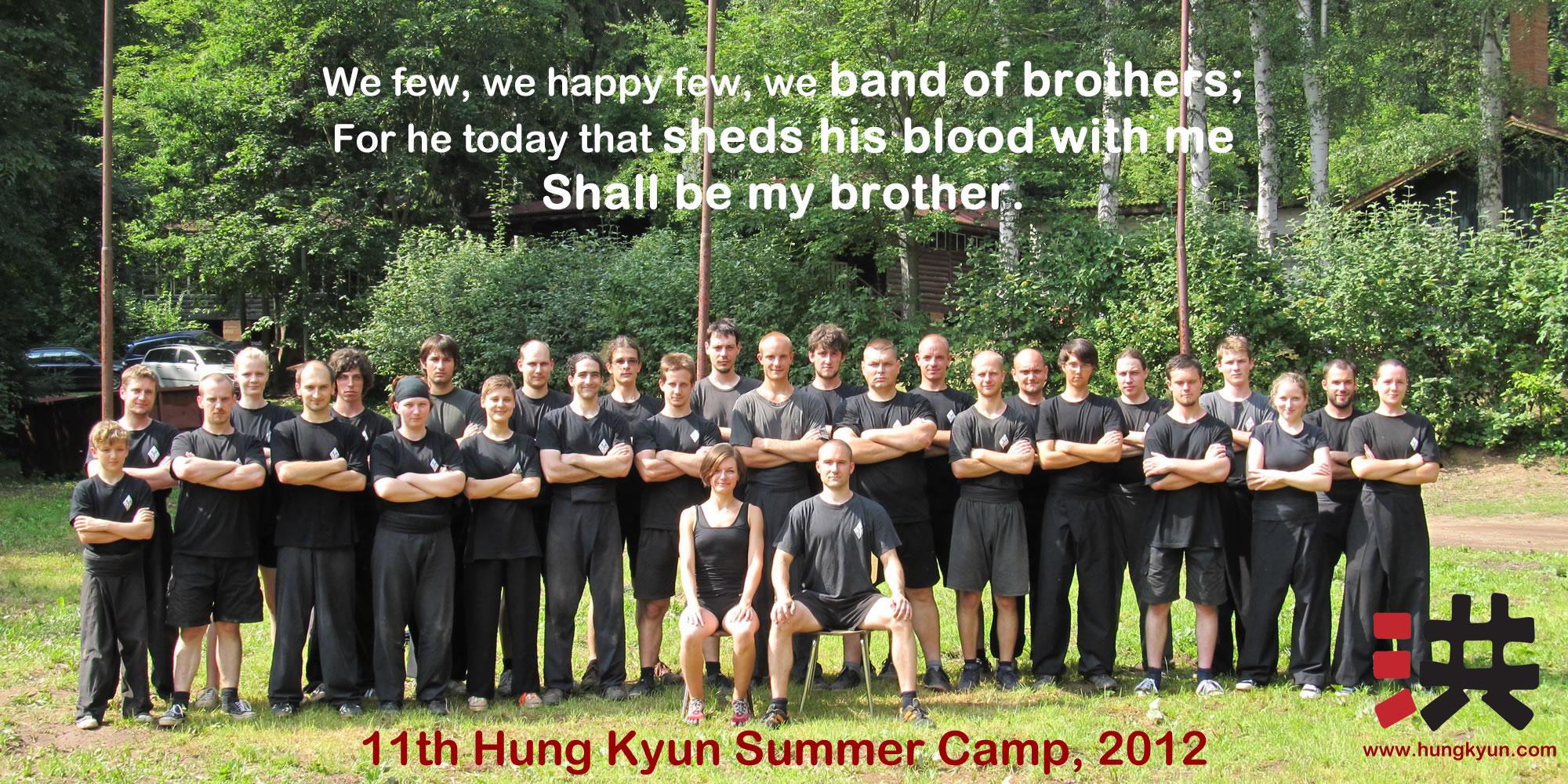 11. letní Hung Kyun Camp, Pnětluky 2012