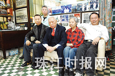 Lam Jou sigung a jeho rodina