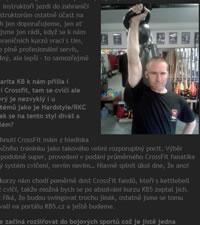 Kettlebell interview Pavel Macek