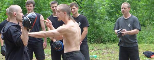 """Adam """"Kain"""" Nikrýn, instruktor Practical Hung Kyun Praha"""