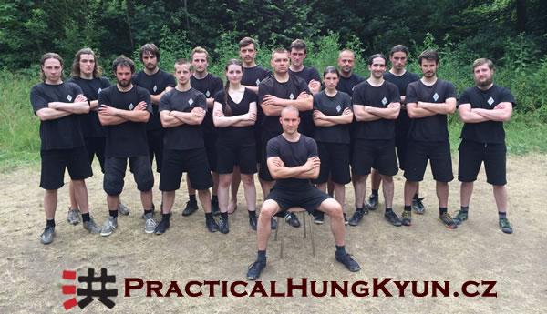 Ty, kdo se se mnou potíš a krvácíš, budeš můj bratr: 13. letní camp Practical Hung Kyun