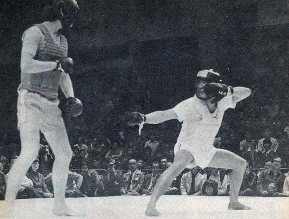 Practical Hung Kyun sparring
