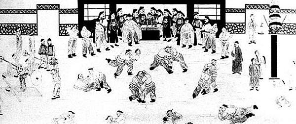 Practical Hung Kyun zápas v klinči